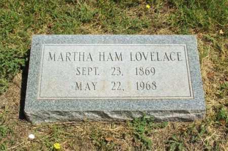 HAM LOVELACE, MARTHA - Harmon County, Oklahoma | MARTHA HAM LOVELACE - Oklahoma Gravestone Photos