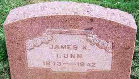 LUNN, JAMES K - Harmon County, Oklahoma | JAMES K LUNN - Oklahoma Gravestone Photos