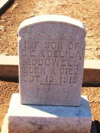 MCDOWELL, INFANT SON - Harmon County, Oklahoma | INFANT SON MCDOWELL - Oklahoma Gravestone Photos