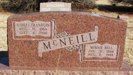 MCNEILL, ROBERT FRANKLIN - Harmon County, Oklahoma | ROBERT FRANKLIN MCNEILL - Oklahoma Gravestone Photos