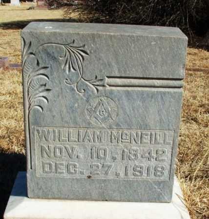 MCNEILL, WILLIAM - Harmon County, Oklahoma   WILLIAM MCNEILL - Oklahoma Gravestone Photos