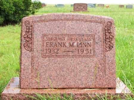 MINN  (MILLITARY), FRANK M - Harmon County, Oklahoma   FRANK M MINN  (MILLITARY) - Oklahoma Gravestone Photos