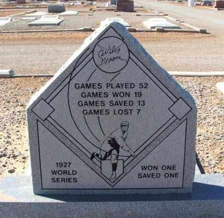MOORE (PITCHING STATS), WILCY - Harmon County, Oklahoma   WILCY MOORE (PITCHING STATS) - Oklahoma Gravestone Photos