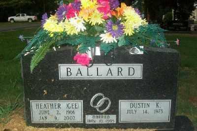 GEE BALLARD, HEATHER - Haskell County, Oklahoma | HEATHER GEE BALLARD - Oklahoma Gravestone Photos
