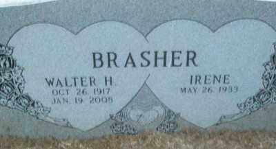 BRASHER, WALTER H. - Haskell County, Oklahoma | WALTER H. BRASHER - Oklahoma Gravestone Photos