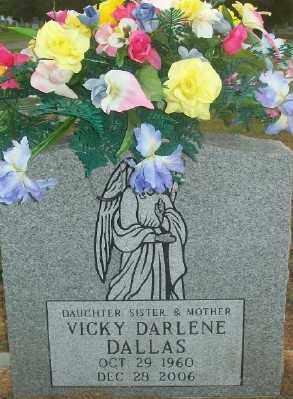 BOND DALLAS, VICKI DARLENE - Haskell County, Oklahoma | VICKI DARLENE BOND DALLAS - Oklahoma Gravestone Photos