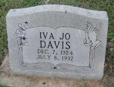 DAVIS, IVA JO - Haskell County, Oklahoma | IVA JO DAVIS - Oklahoma Gravestone Photos