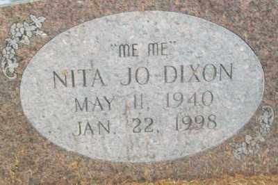 DIXON, NITA JO - Haskell County, Oklahoma | NITA JO DIXON - Oklahoma Gravestone Photos