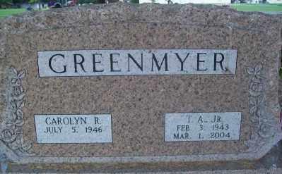 GREENMYER, T.A. - Haskell County, Oklahoma | T.A. GREENMYER - Oklahoma Gravestone Photos