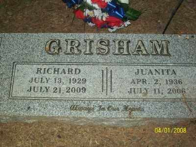 GRISHAM, JUANITA - Haskell County, Oklahoma | JUANITA GRISHAM - Oklahoma Gravestone Photos