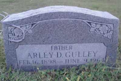 GULLEY, ARLEY D. - Haskell County, Oklahoma | ARLEY D. GULLEY - Oklahoma Gravestone Photos