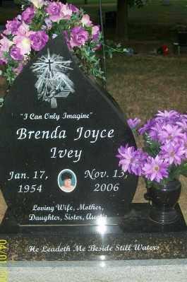 IVEY, BRENDA JOYCE - Haskell County, Oklahoma | BRENDA JOYCE IVEY - Oklahoma Gravestone Photos