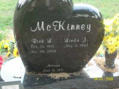MCKINNEY, RICK L. - Haskell County, Oklahoma | RICK L. MCKINNEY - Oklahoma Gravestone Photos