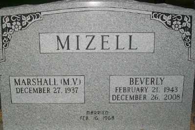 MIZELL, BEVERLY - Haskell County, Oklahoma | BEVERLY MIZELL - Oklahoma Gravestone Photos
