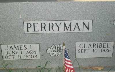 PERRYMAN, JAMES L. - Haskell County, Oklahoma   JAMES L. PERRYMAN - Oklahoma Gravestone Photos
