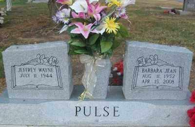 PULSE, BARBARA JEAN - Haskell County, Oklahoma | BARBARA JEAN PULSE - Oklahoma Gravestone Photos