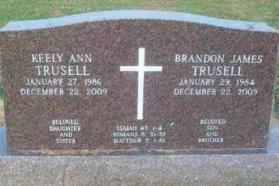 TRUSELL, BRANDON JAMES - Haskell County, Oklahoma | BRANDON JAMES TRUSELL - Oklahoma Gravestone Photos
