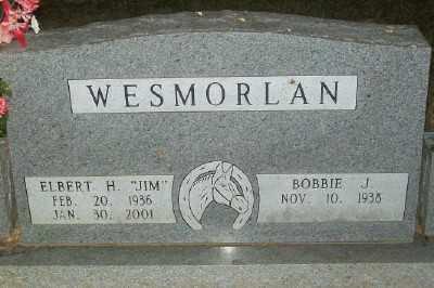 "WESMORLAN, ELBERT H. ""JIM"" - Haskell County, Oklahoma | ELBERT H. ""JIM"" WESMORLAN - Oklahoma Gravestone Photos"