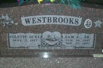 WESTBROOKS, SAMUEL JERRY, JR. - Haskell County, Oklahoma | SAMUEL JERRY, JR. WESTBROOKS - Oklahoma Gravestone Photos