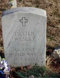 WESLEY, TILLIER - Hughes County, Oklahoma   TILLIER WESLEY - Oklahoma Gravestone Photos
