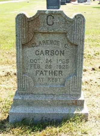 CARSON, CLARENCE C - Jackson County, Oklahoma | CLARENCE C CARSON - Oklahoma Gravestone Photos