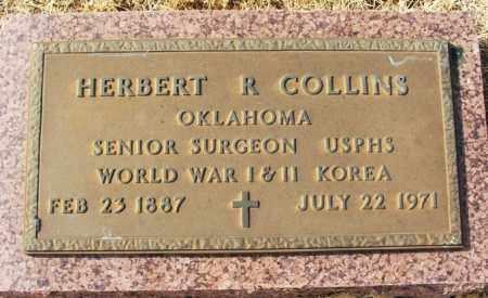 COLLINS (VETERAN 3WARS), HERBERT R - Jackson County, Oklahoma | HERBERT R COLLINS (VETERAN 3WARS) - Oklahoma Gravestone Photos