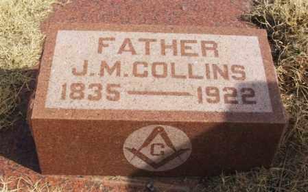 COLLINS, JAMES M - Jackson County, Oklahoma   JAMES M COLLINS - Oklahoma Gravestone Photos