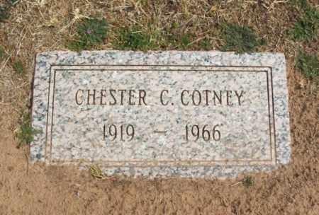 COTNEY, CHESTER C - Jackson County, Oklahoma   CHESTER C COTNEY - Oklahoma Gravestone Photos