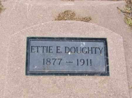 DOUGHTY, ETTIE E - Jackson County, Oklahoma | ETTIE E DOUGHTY - Oklahoma Gravestone Photos