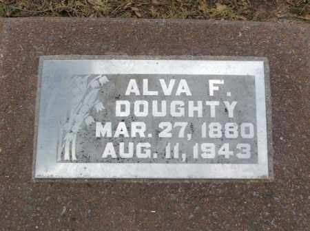 DOUGHTY, ALVA F - Jackson County, Oklahoma | ALVA F DOUGHTY - Oklahoma Gravestone Photos