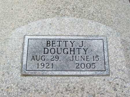 DOUGHTY, BETTY J - Jackson County, Oklahoma   BETTY J DOUGHTY - Oklahoma Gravestone Photos