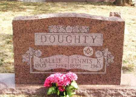 DOUGHTY, FINNIS K - Jackson County, Oklahoma | FINNIS K DOUGHTY - Oklahoma Gravestone Photos