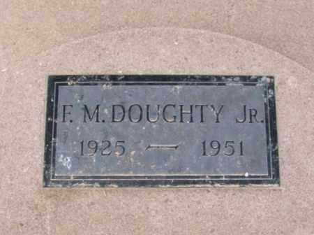 DOUGHTY, FORREST M, JR - Jackson County, Oklahoma | FORREST M, JR DOUGHTY - Oklahoma Gravestone Photos