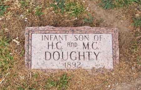 DOUGHTY, INFANT SON - Jackson County, Oklahoma | INFANT SON DOUGHTY - Oklahoma Gravestone Photos