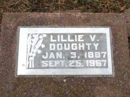 DOUGHTY, LILLIE V - Jackson County, Oklahoma | LILLIE V DOUGHTY - Oklahoma Gravestone Photos