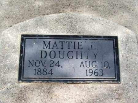 DOUGHTY, MATTIE L - Jackson County, Oklahoma | MATTIE L DOUGHTY - Oklahoma Gravestone Photos
