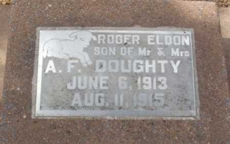 DOUGHTY, ROGER ELDON - Jackson County, Oklahoma   ROGER ELDON DOUGHTY - Oklahoma Gravestone Photos
