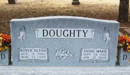 DOUGHTY, ANNIE MARIE - Jackson County, Oklahoma | ANNIE MARIE DOUGHTY - Oklahoma Gravestone Photos