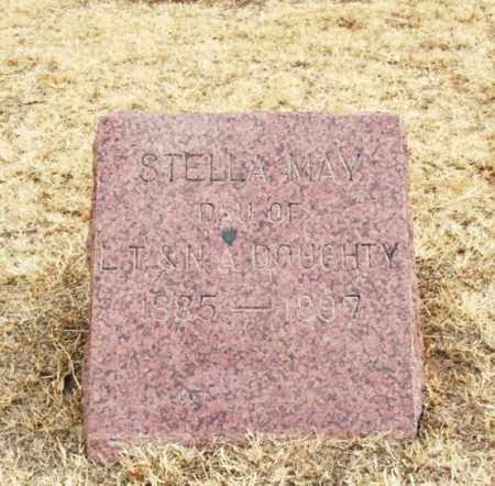 DOUGHTY, STELLA MAY - Jackson County, Oklahoma | STELLA MAY DOUGHTY - Oklahoma Gravestone Photos
