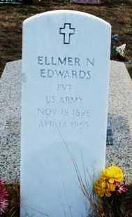 EDWARDS (VETERAN), ELLMER N - Jackson County, Oklahoma   ELLMER N EDWARDS (VETERAN) - Oklahoma Gravestone Photos