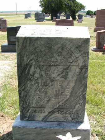 "MARBLE, MARY L ""MOLLIE"" - Jackson County, Oklahoma | MARY L ""MOLLIE"" MARBLE - Oklahoma Gravestone Photos"