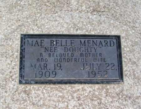MENARD, MAE BELLE - Jackson County, Oklahoma | MAE BELLE MENARD - Oklahoma Gravestone Photos