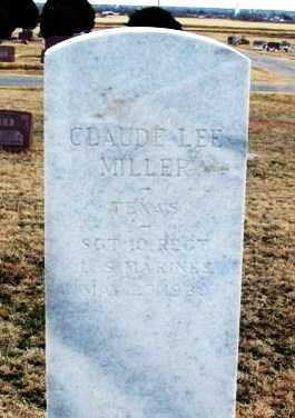 MILLER (VETERAN), CLAUDE LEE - Jackson County, Oklahoma | CLAUDE LEE MILLER (VETERAN) - Oklahoma Gravestone Photos