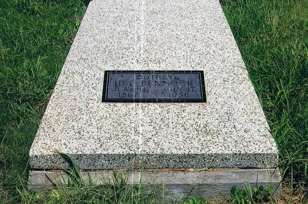 GRUBER PENNOCK, IDA PHILABERNIA - Jackson County, Oklahoma | IDA PHILABERNIA GRUBER PENNOCK - Oklahoma Gravestone Photos