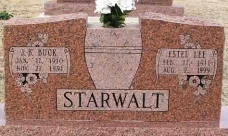 STARWALT, ESTEL LEE - Jackson County, Oklahoma | ESTEL LEE STARWALT - Oklahoma Gravestone Photos