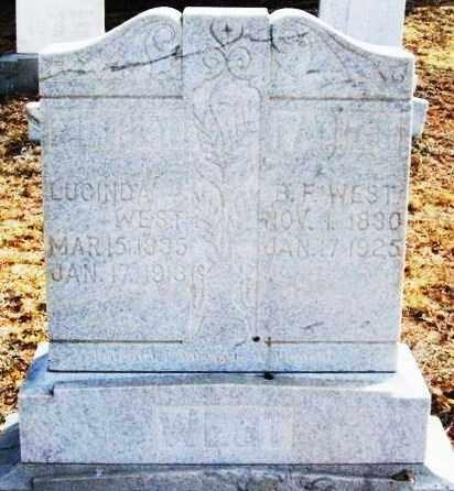 WEST, LUCINDA - Jackson County, Oklahoma   LUCINDA WEST - Oklahoma Gravestone Photos