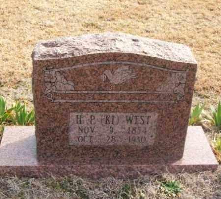 """WEST, HEZEKIAH PRESTON """"KI"""" - Jackson County, Oklahoma   HEZEKIAH PRESTON """"KI"""" WEST - Oklahoma Gravestone Photos"""