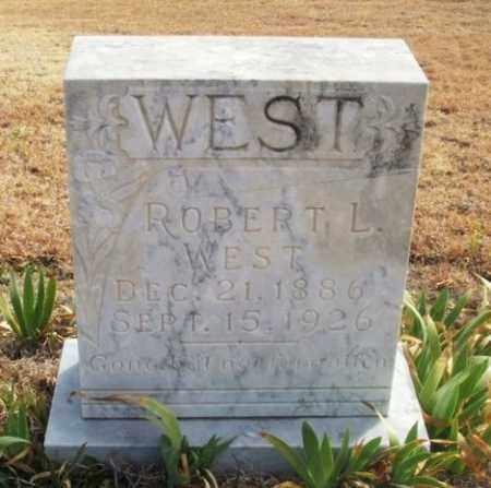 WEST, ROBERT LUCIEN - Jackson County, Oklahoma   ROBERT LUCIEN WEST - Oklahoma Gravestone Photos