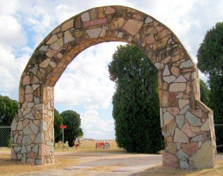 *ENTRANCE, RYAN CEMETERY - Jefferson County, Oklahoma | RYAN CEMETERY *ENTRANCE - Oklahoma Gravestone Photos