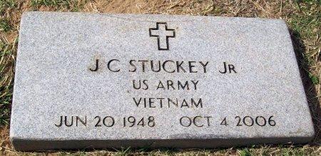 STUCKEY, JR (VETERAN), J C (NEW) - Jefferson County, Oklahoma | J C (NEW) STUCKEY, JR (VETERAN) - Oklahoma Gravestone Photos